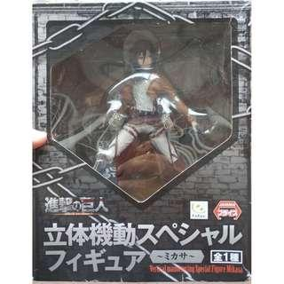 Attack on Titan Furyu Mikasa PVC Figurine