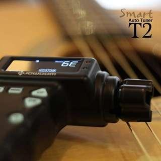 JOWOOM T2 SMART TUNER - Automatic Tuner for Guitar, Ukulele, etc
