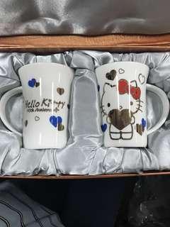 Hello Kitty 40th Anniversary Pair Mug Set (Bone China)