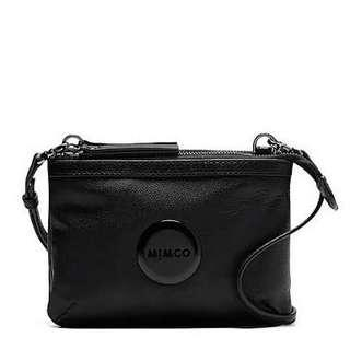 Mimco Black Pouch Side Bag