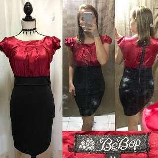 Red & Black Formal Dress