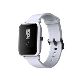 (Original Malaysia Warranty) Xiaomi Smart Watch Amazfit Bip White Cloud