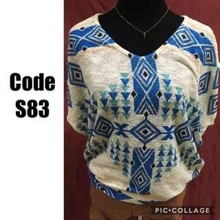 Knitted Blouse S83