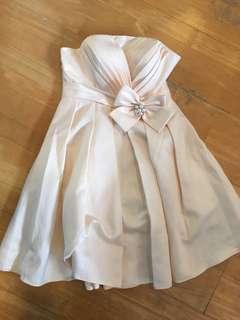 Tube Dress (champagne color)
