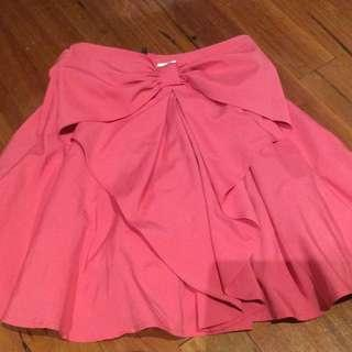 Pink Bow Skirt