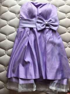 Tube dress (Purple)