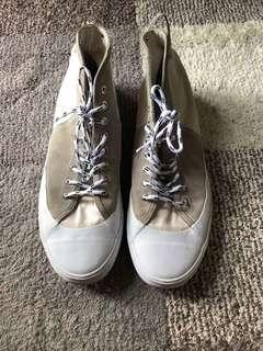 Authentic Balenciaga High Cut Rubber Shoes Size 10