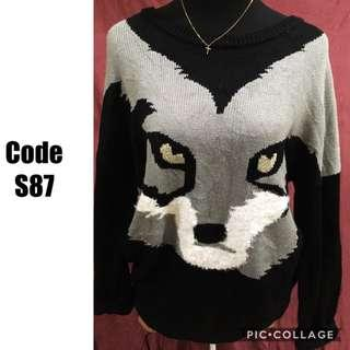 Knitted Sweater S87