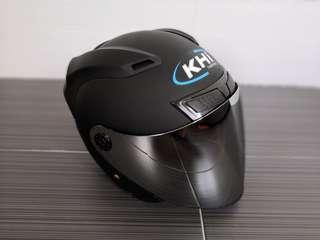 KHI K12.1 HELMET XL SIZE MATT BLACK