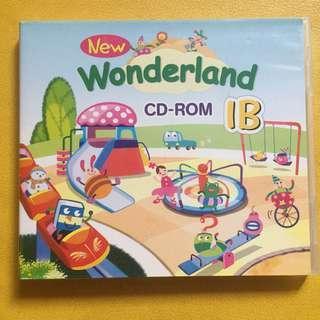 OXFORD New Wonderland CD ROM 1B 電腦光碟