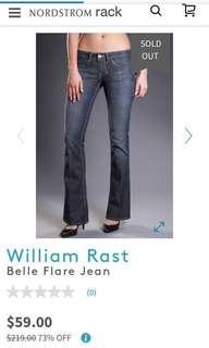BRAND NEW William Rast Belle Flare