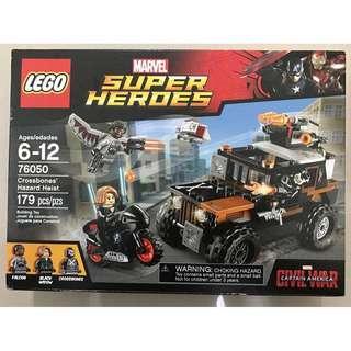 LEGO Marvel Super Heroes Crossbones' Hazard Heist 76050 (179 Pieces)