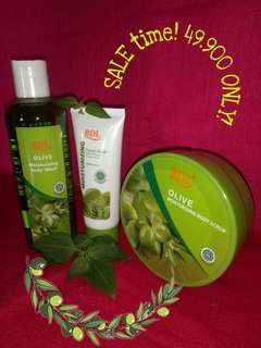 BDL skincare Olive