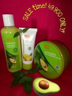 BDL skincare Avocado set.