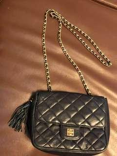 Authentic givenchy quilted chain sling bag
