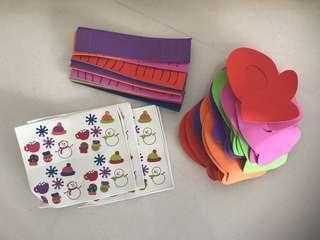 Free craft supplies