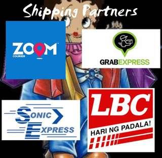 Shipping Partners! 😊