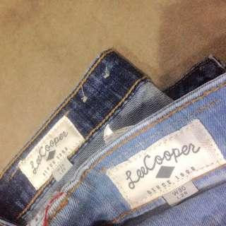 Lee copper jeans