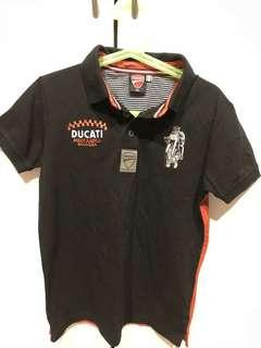 🚚 Ducati Polo shirt New (Age 5-6 years old)