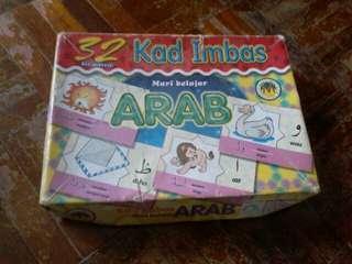 Mari belajar arab 32 kad imbas