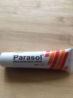 Parasol sunscreen spf33