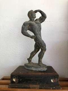 Old Bodybuilder Trophy