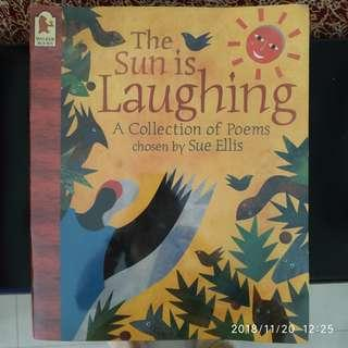 🚚 Big Book (45×37cm): The Sun is Laughing - A collection of poems