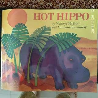🚚 Big Book (45×37cm):  Hot Hippo