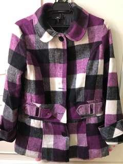 USED : WINTER CHECKER LADIES JACKET (XL)