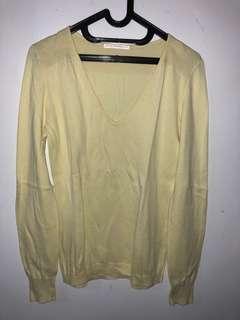 Sweater Warm Yellow