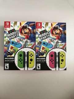WTS- Super Mario Party Joycons (Please Read)