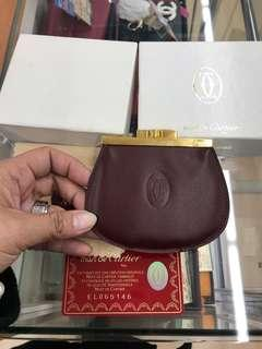 Cartier Authentic coin purse