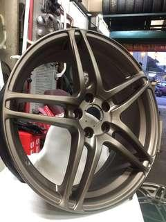 Original Yokohama Wheels AVS T5 17 inch