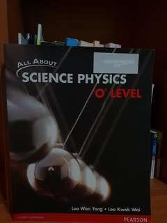 All About Science Physics 'O' Level Textbook