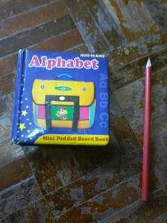 Alphabet mini padded board book