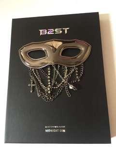 B2ST 5th Mini Album Midnight Sun