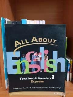 All About English Express English Textbook