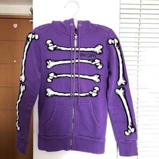 Abbey dawn bone dance hoodie