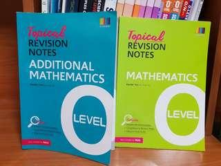 Maths quick revision textbooks Upper Secondary