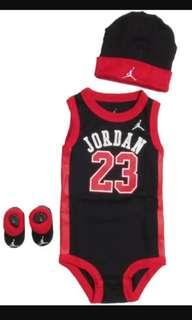 Nike Jordan baby set black and red BNWT ALL SIZES