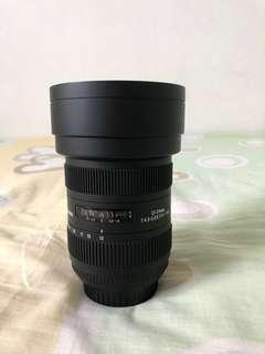 Sigma 12-24mm Wide Angle lens DG HSM II(CANON)