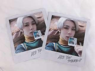 [WTS] MONSTA X ARE YOU THERE POLAROID