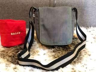 Authentic Bally Expandable Sling Bag With Dustbag