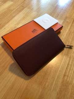 Hermes Silk Wallet