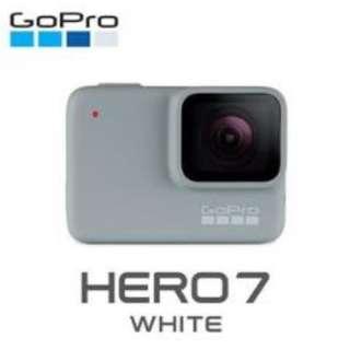 GoPro HERO7 White CHDHB-601全方位攝影機