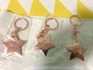 Ju-ju-be rose gold star