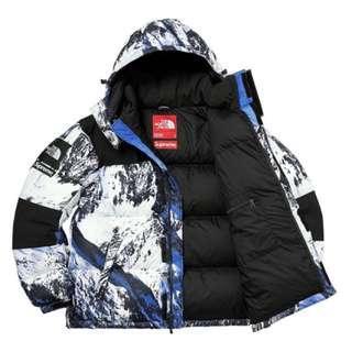 Supreme X north face snow jacket
