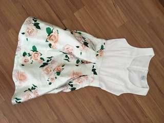 Twenty3 White Floral Dress