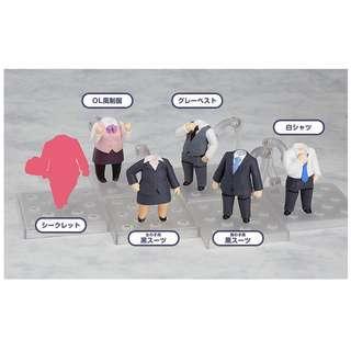 Nendoroid More: Dress Up Suits (set of 6)