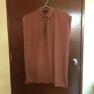 F21 Mauve Shirt Dress